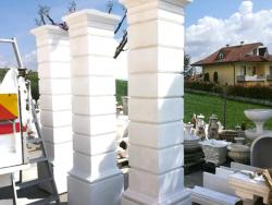 Pilastri per cancello su misura