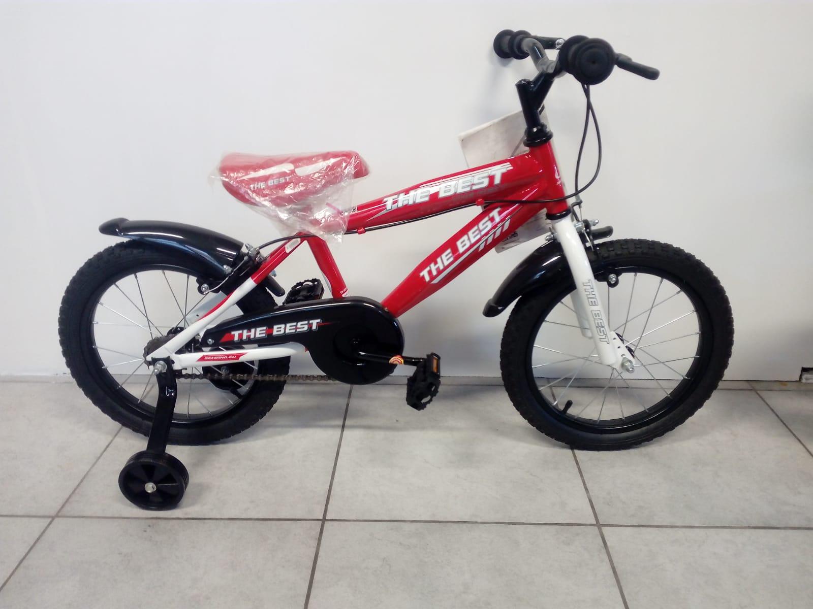Bicicletta 16 Schiano a sfera rossa