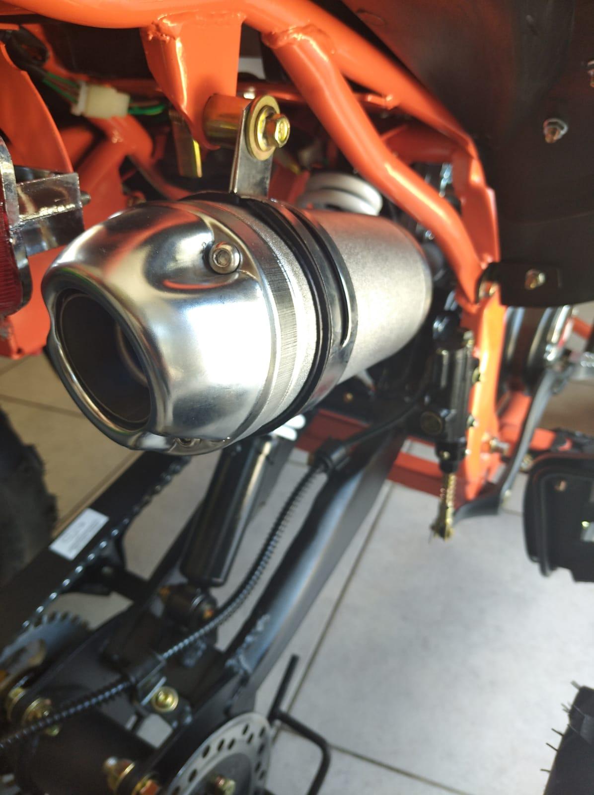 Quad Urricane Apollo 125 motore 125
