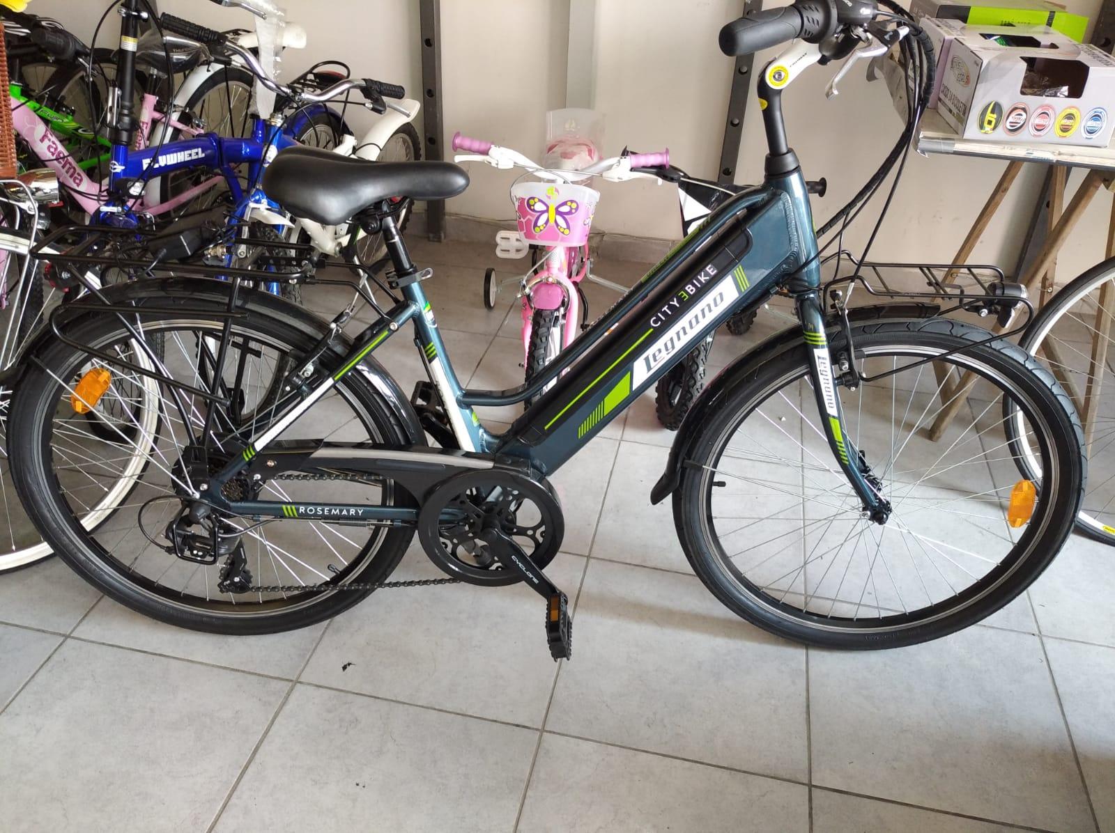 Bici con PEDALATA assistita Legnano Passeggio